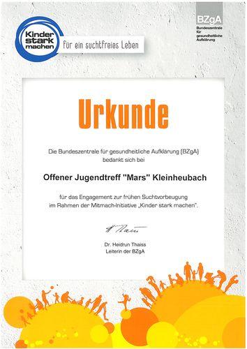 Urkunde_BZgA_Mitmach-Initiative -Kiner stark machen
