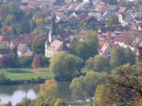 Bild_Evangelische Kirche Kleinheubach